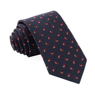 Prime Paisley Navy Tie