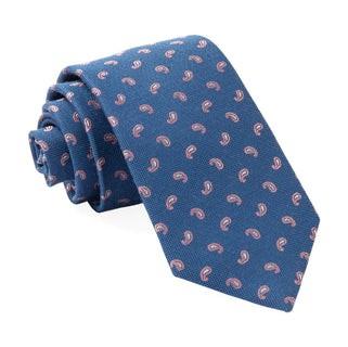 Prime Paisley Classic Blue Tie