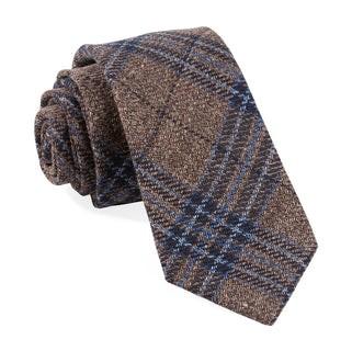 Barberis Marrone Brown Tie