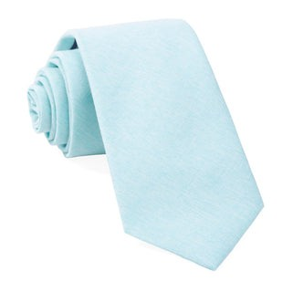 Sunset Solid Mint Tie