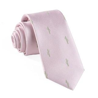 Mumu Weddings - Cactus Blush Pink Tie