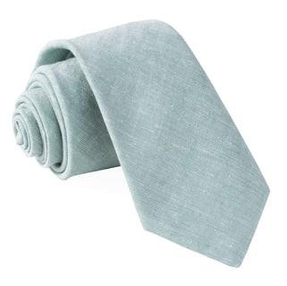Solid Breeze Mint Tie