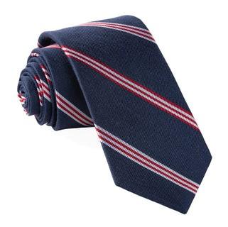 Topside Stripe Navy Tie