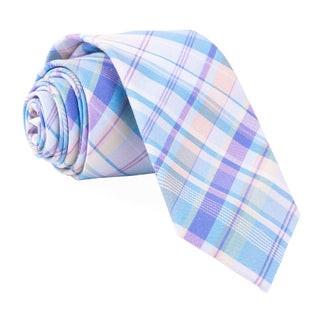 Raditation Plaid Light Blue Tie