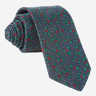 Under The Mistletoe Navy Tie