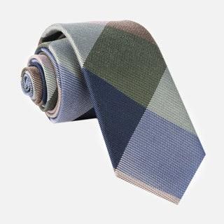 Rohrer Plaid Olive Green Tie
