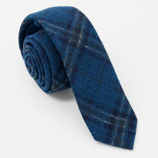 Barberis Wool Volare Teal Tie