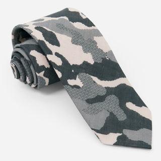City Safari Charcoal Tie