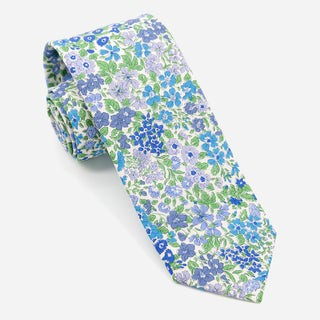 Liberty Joanna Louise Blue Tie