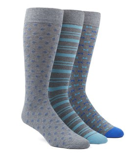 The Aqua Sock Pack Dress Socks