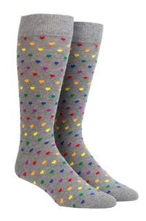 The Equality Sock Grey Dress Socks