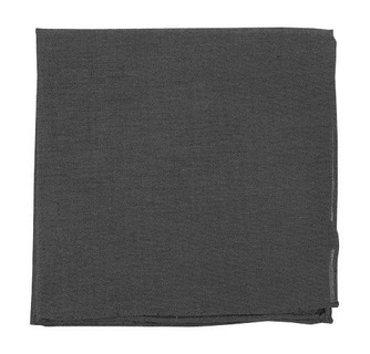 Classic Chambray Warm Grey Pocket Square