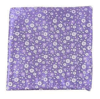 Milligan Flowers Lavender Pocket Square