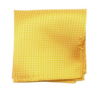 Pindot Yellow Gold Pocket Square