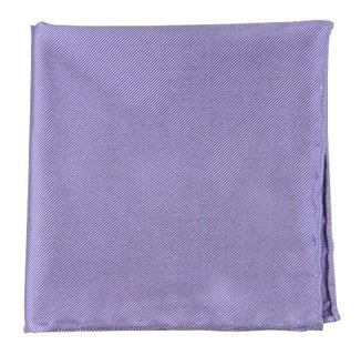Solid Twill Lavender Pocket Square