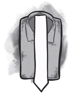 """Modern ties with 2"""" wide"""