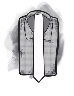 """Skinny ties with 2.5"""" wide"""