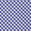 Petite Gingham Royal Blue Tie