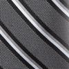 Ground Stripe Charcoal Tie