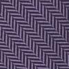 Wool Herringbone Eggplant Tie