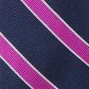 Honor Stripe Magenta Tie