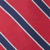 Honor Stripe Classic Red Tie