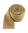 Knitted Light Champagne Tie