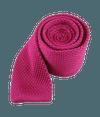 Knitted Fuchsia Tie