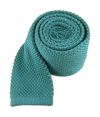 Knitted Aqua Tie