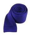 Knitted Violet Tie