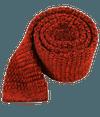 Scramble Knit Red Tie