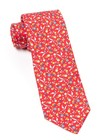 Fentone Floral Apple Red Tie