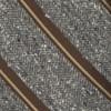 Spirit Stripe Brown Tie