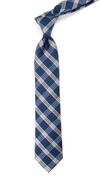 Wit Plaid Navy Tie