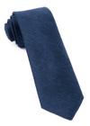 Festival Textured Solid Navy Tie