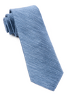 Festival Textured Solid Slate Blue Tie