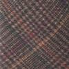 Wiseacre Wool Plaid Brown Tie