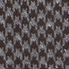 Houndstooth Thrill Chocolate Brown Tie