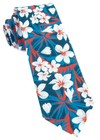 Tropic Of Linen Navy Tie