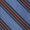 Rangel Stripe Light Blue Tie