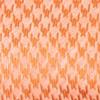 White Wash Houndstooth Orange Tie