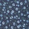 Corduroy Dahlias Navy Tie