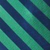 Twill Stripe Kelly Green Tie