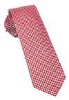 Bahama Checks Red Tie