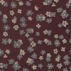 Free Fall Floral Burgundy Tie
