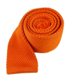 Knitted Tangerine Tie