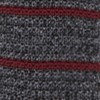 Scramble Knit Stripe Burgundy Tie