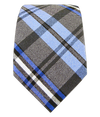 Winter Plaid Blues Tie