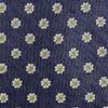 Half Moon Floral Navy Tie