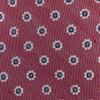 Half Moon Floral Red Tie